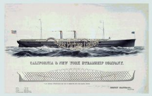 California & New York Steamship Company